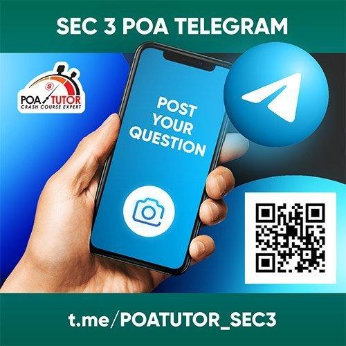 POA SEC-3 Telegram User Group