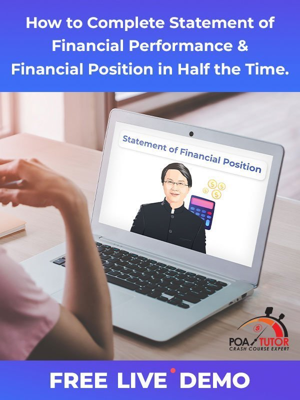 Statement of Financial Position Live Demo